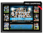 Cronulla Sharks 700x500mm 2016 NRL Premiers Tribute Frame 1