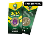 Melbourne Storm 2016 NRL Premiers Blister Pack Collectible Medallion 1