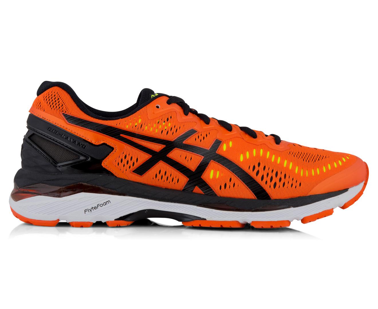 in stock 24518 e3121 ASICS Men's GEL-Kayano 23 Shoe - Flame Orange/Black/Safety Yellow