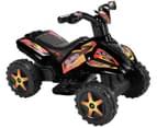 Kids' Quad Raptor Ride-On Toy Bike - Black 1