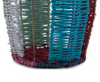 Set of 2 Nested Tall Limpopo Baskets - Multi 5