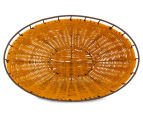Set of 2 Nested Oval Limpopo Baskets - Orange/Red 6