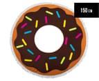 Round 150cm Beach Towel - Donut 1