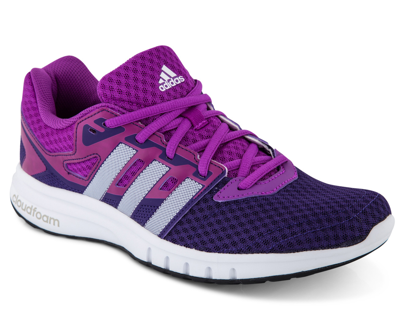 Adidas Women's Galaxy 2 Shoe - Unity Purple/White/Shock