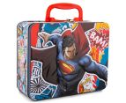 Batman v Superman Lunch Tin w/ 100-Piece Puzzle - Red/Multi 2