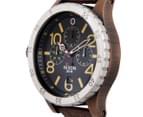 Nixon Men's 48mm 48-20 Chrono Leather Watch - Antique Copper/Brown 2