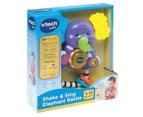 VTech Baby Shake & Sing Elephant Rattle - Multi 3
