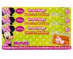 3 x Minnie Mouse Snack Bags 25pk 1