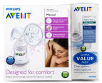 Avent Manual Breast Pump With 5 x Extra Cups 2