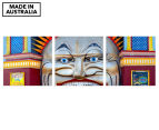 Luna Park 50x50cm 3-Part Canvas Wall Art Set 1