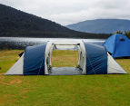 12 Person Family Camping Dome Tent - Navy/Grey 3