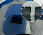 12 Person Family Camping Dome Tent - Navy/Grey 6