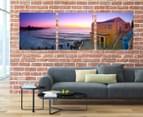 Coogee Beach 50x50cm 3-Part Canvas Wall Art Set 2