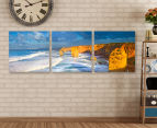 12 Apostles Alight 50x50cm 3-Part Canvas Wall Art Set 2