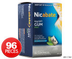 Nicabate 4mg Soft Gum Extra Strength Mint 96pk 1