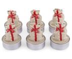 4 x Santa's Sack Tealight Candles Gift Box 6-Pack 1