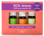 ECO. Aroma Trio Scents Of Summer Essential Oils 3-Pack Value Gift Box 1