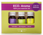 ECO.Aroma Calm & Destress Pure Essential Oil 3-Pack - 10mL 1