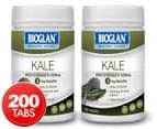 2 x Bioglan Healthy Living Kale 100 Tablets 1