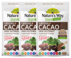 3 x Nature's Way Super Greens + Cacao 100g 1