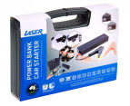 LASER 12000mAH Power Bank Battery w/ USB, Car Starter & LED Flashlight 5