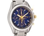 Seiko Men's 41mm SNDE59P Titanium Chronograph Watch - Silver 2