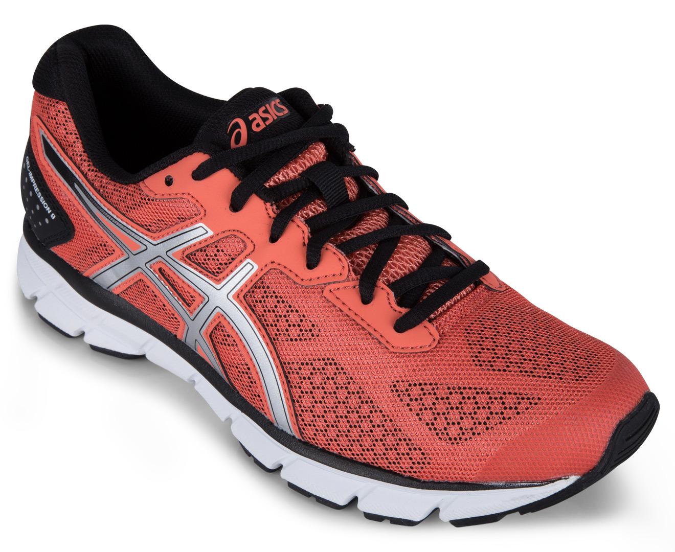 1f0df0faf0 ASICS Women s GEL-Impression 9 Shoe - Flash Coral Silver Black ...