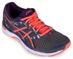 ASICS Women's GEL-Excite 4 Shoe - Shark/Flash Coral/Parachute Purple 2