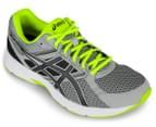 ASICS Men's GEL-Contend 3 Shoe - Midgrey/Black/Safety Yellow 2