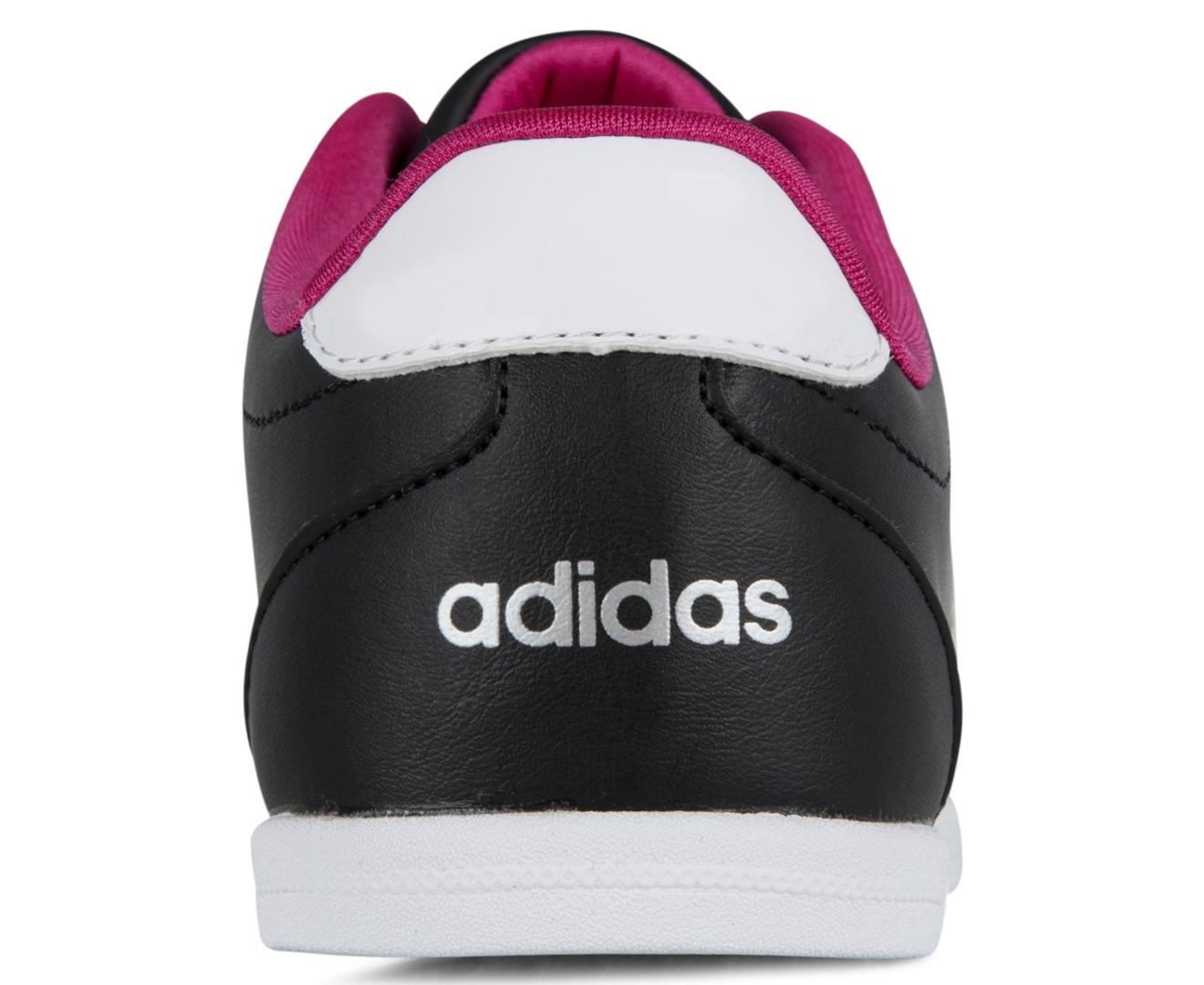 Adidas Women's Neo Coneo QT Shoes BlackWhitePink