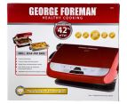 George Foreman Champ All In One Grill - Candy Apple Red 2