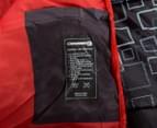 Caribee Moonshine +5C Sleeping Bag - Charcoal/Flame Red 5