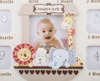 Noah's Ark 28x23cm Collage Frame - Cream 4