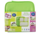 Slim-Line Lunch Box - Green 1