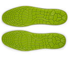 Male Gel Massaging Insole - Green 2