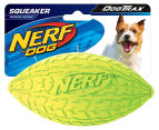 NERF Dog Small Squeaker Football - Green 1