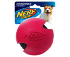 NERF Dog Medium Wrapped Classic Squeaker Tennis Ball - Red 1