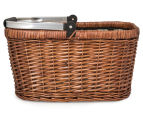 Avanti Insulated Carry Basket - Light Brown Willow/Bathing Box 2