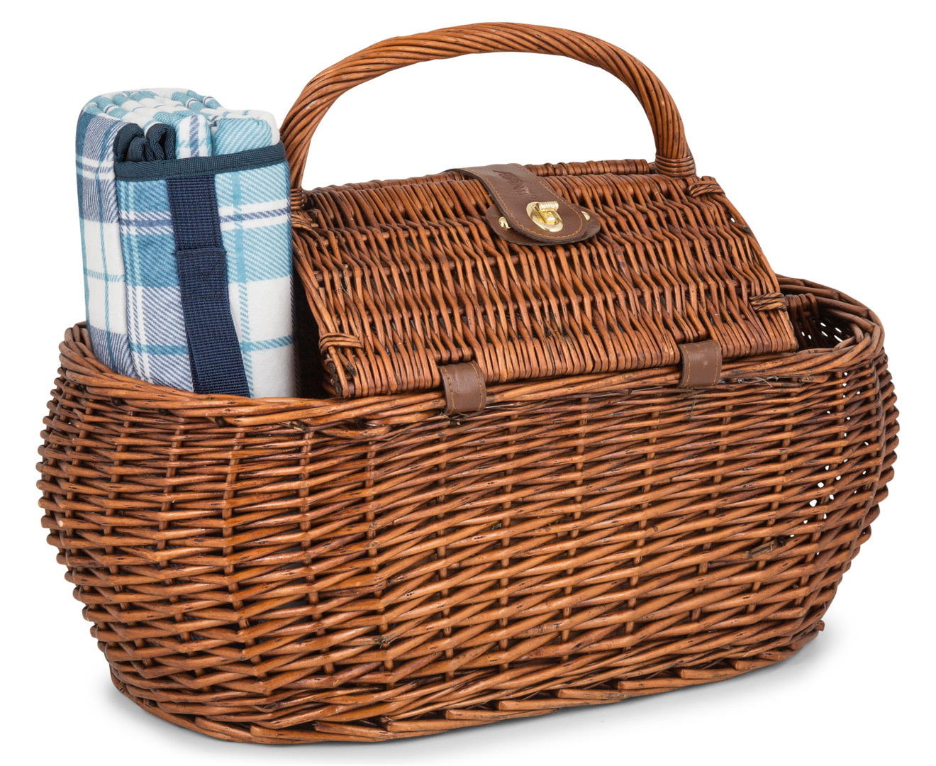 Aldi Picnic Basket Australia : Avanti person picnic basket light brown willow blue