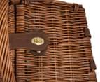 Avanti 2 Person Picnic Basket - Light Brown Willow/Bathing Box 5