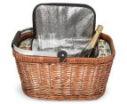 Avanti Insulated Carry Basket - Light Brown Willow/Bathing Box 5