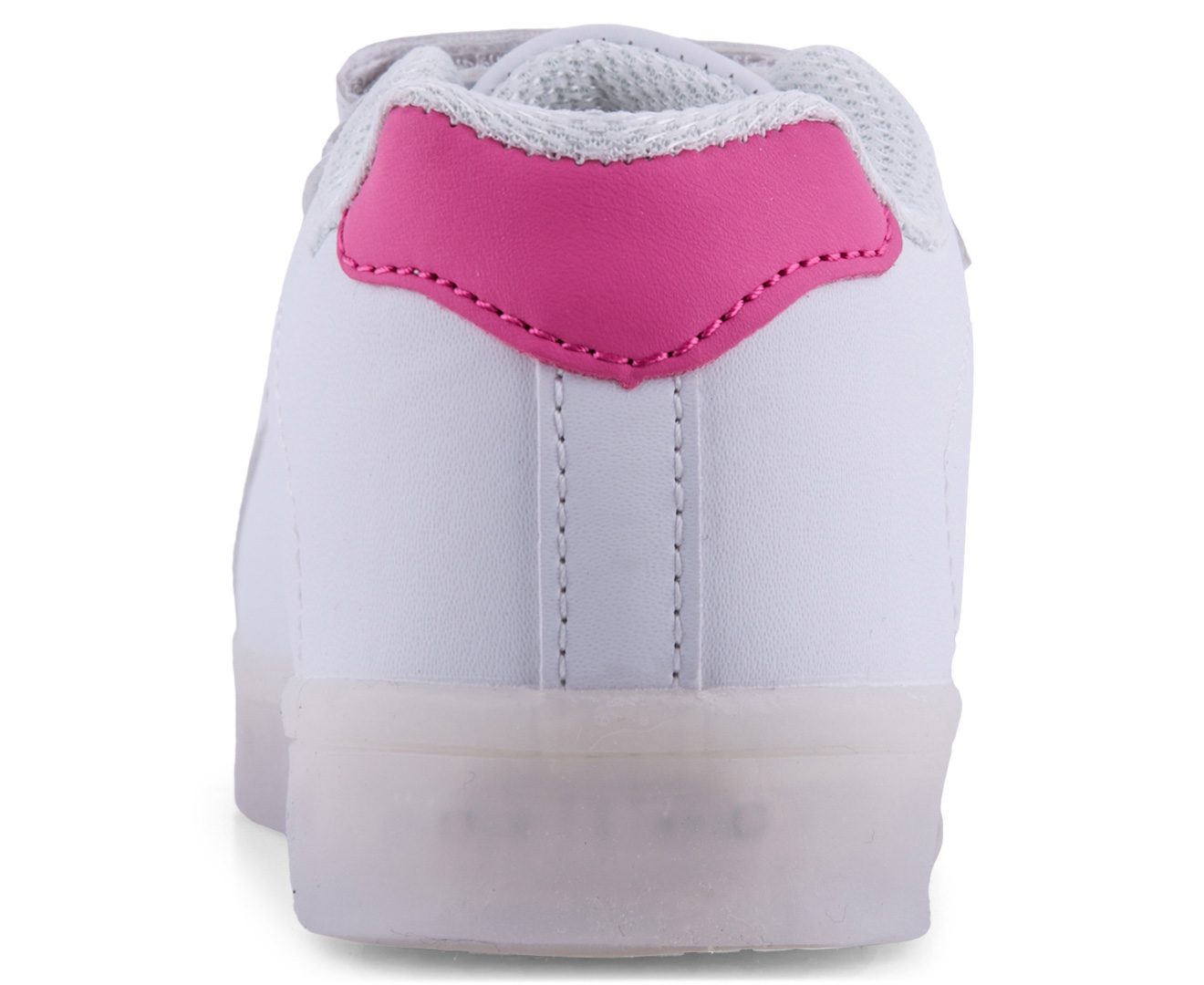Gleamkicks kids 39 swag gleamer shoe white pink for Bedroom kandi swag bag