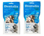 2 x Dentalix Vegetable Dental Treats - Beef  1