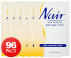 6 x Nair Hair remover Body Wax Strips Camomile 16 Strips 1