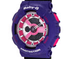 CASIO Women's Baby-G Duo 45mm Watch - Black/Purple 3