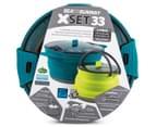 Sea To Summit X Set 33 Pot & Kettle - Blue/Green 6