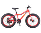 "Progear Kids' 20""/50cm Chunky Fat Bike - Neon Red 1"
