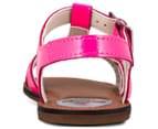 Clarks Kids' Loni Lola Wide Fit Sandal - Candy Patent 4