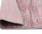 Art Silk 230x160cm Modern Industrial Rug - Pink 5