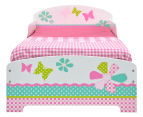 Worlds Apart 145x77x59cm Patchwork Toddler Bed - Multi 1